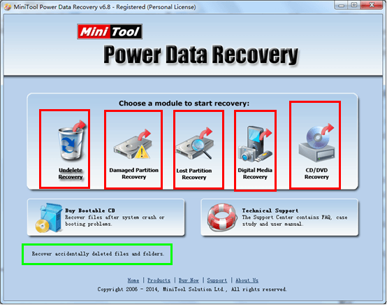 MiniTool Power Data Recovery 8.6 Crack + Keygen [Latest]