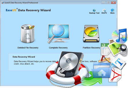 EASEUS Data Recovery Wizard 13.2 Crack Free Download [2020]