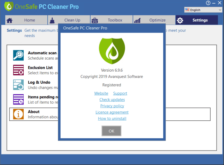 OneSafe PC Cleaner Pro 7.1 Crack Free Download 2020