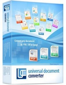 Universal Document Converter 6.8.1712.15160 + Crack Download