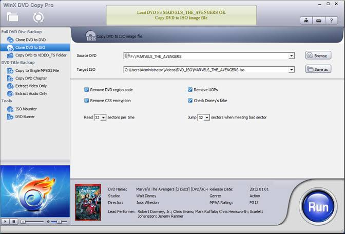 WinX DVD Copy Pro 3.9.2 Crack + License Code Download [2020]