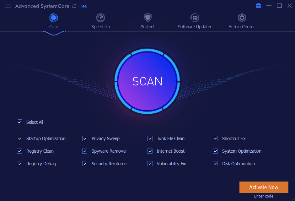 Advanced SystemCare Pro 13.5 Crack + Keygen Download [2020]